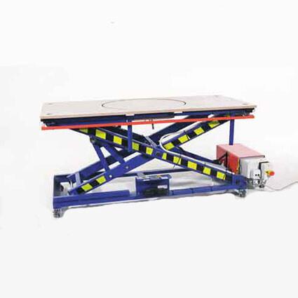 Hydraulic Liftable Table Type Sizex Cm Botman BV - Liftable table